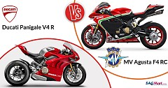 Comparison of Rivals: Ducati Panigale V4 R vs MV Agusta F4 RC