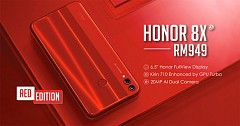 Red variant of Honor 8X Goes on Sale