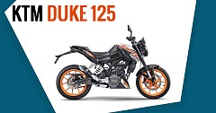 KTM Launches Duke 125 ABS at INR 1.18 Lakh