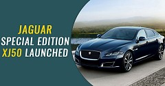 Jaguar Special Edition XJ50 Launched in India At Rs 1.11 Crore