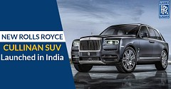 Cullinan,The New SUV Diamond On The Rolls Royce Crown, Launched in India