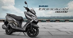Suzuki Registers 13% Sales Growth in November 2018 with Bestseller Access 125 and New Burgman 125