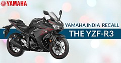 Yamaha India to Recall the YZF-R3 Over Radiator Hose,Torsion Spring Issue