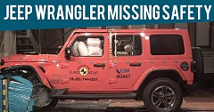Jeep Wrangler Missing key Safety Features, Gets One-Star Euro NCAP Rating