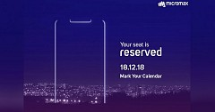 Micromax Plans To Unveil its First Display Notch Smartphone on December 18