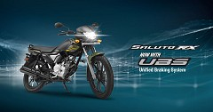 Yamaha India Launches New Saluto 125 UBS and Saluto RX UBS