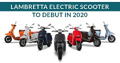 Lambretta Electric Scooter to Debut Globally at the Auto Expo 2020