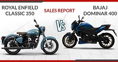 Sales Comparison of Rivals: Royal Enfield Classic 350 Vs Bajaj Dominar 400
