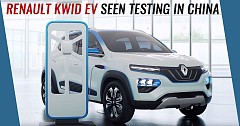 Renault Kwid EV Seen Testing in China