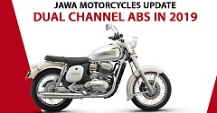 Jawa and Jawa Forty Two to Feature Rear Disc and Dual Channel ABS in 2019
