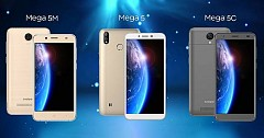 Coolpad Announces Mega 5, Mega 5C and Mega 5M in India