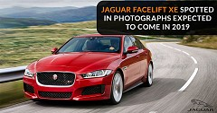 Jaguar Facelift XE Spotted in Photographs Expected To Come in 2019