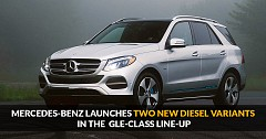 Mercedes-Benz Launches Two New Diesel Variants in The  GLE-Class Line-Up