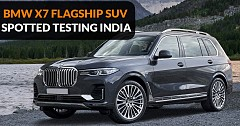 BMW X7, All-New Flagship SUV Spotted Testing; Launch Soon
