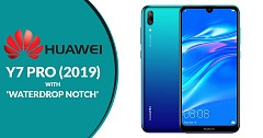 Huawei Y7 Pro (2019) with Waterdrop Notch Launched in Vietnam