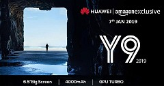 Huawei Y9 (2019) Launch Teased by Amazon India For 7 Jan
