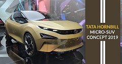 Tata Hornbill micro-SUV concept Ready for a shiny launch at 2019 Geneva Motor Show
