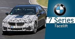 Russian Blogger Shares Upcoming  BMW 7 Series Facelift Pictures
