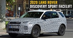 2020 Land Rover Discovery Sport Facelift Spotted