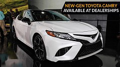 New-Gen Toyota Camry is Now Made Available At The Dealerships