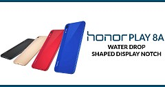 Honor Play 8A Launched in China Featuring Water drop- shaped Display Notch