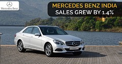 Mercedes Benz India Sales Grew By 1.4% and Sold 5,538 Units in 2018