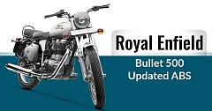 Royal Enfield Bullet 500 Updated with Rear Disc Brake & ABS, Priced INR 1.87 lakhs