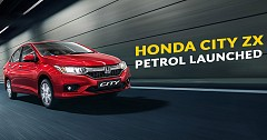Honda City ZX Petrol & Manual Launched: Checkout The Price