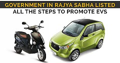 Government in Rajya Sabha Listed All The Steps To Promote EVs