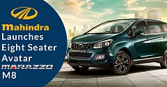 Mahindra Launches The Eight-seater Avatar Of The Mahindra Marazzo M8