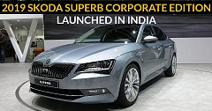 2019 Skoda Superb Corporate Edition Launched in India