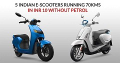 Top 5 Worth Buying Electric Scooters in India