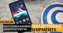 Honor Sale Figures Showing Steady Growth in Smartphone Shipments