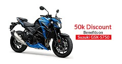 Suzuki GSX-S750 Available on Discount Benefits Up to INR 50k