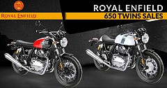 Royal Enfield 650 Twins Sale Doubled in First Full Month at 629 Units