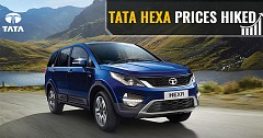 Customers have to pay more for Tata Hexa now: prices hiked