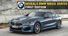 BMW Reveals M850i xDrive First Edition