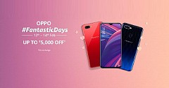 Oppo Fantastic Days Sale on Amazon Begins