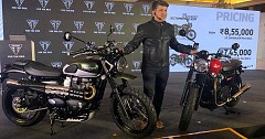 2019 Triumph Street Scrambler and Street Twin Launched