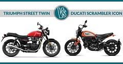 2019 Triumph Street Twin Vs Ducati Scrambler Icon: Comparison of Rivals