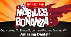 Mobile Bonanza Sale 2019 Listed on Flipkart With Great Deals and Offers
