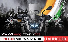 Benelli TRK 502, TRK 502X India Launch Starting Price INR 5 Lakh