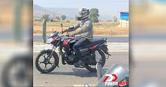 2019 Bajaj Discover 110 CBS Prototype Spied on Test Runs without Camouflage