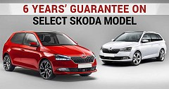 Skoda offers Massive 6 Years' Guarantee on its Rapid Octavia Superb Kodiaq Models