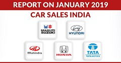 Report on January 2019 Car Sales India: Sales Down Across All Brands