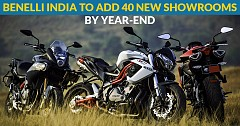 Benelli India Dealership Network to Get 40 New Showrooms by This Year End