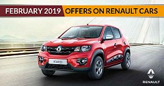 February 2019 Offers on Renault Cars: Captur, Duster, Lodgy, Kwid