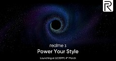 Realme 3 Set To Launch on March 4, 2019, with Helio P70 chip