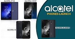 Alcatel 3 (2019), Alcatel 3L, Alcatel 1S and Alcatel 3T 10 Tablet Revealed at MWC 2019