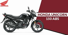 Honda India Launches Unicorn 150 with ABS at INR 78,815